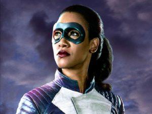 the flash iris costume velocista