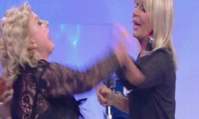tina e gemma litigano a uomini e donne
