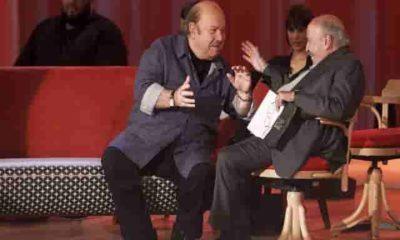 Foto di Lino Banfi, ospite al Maurizio Costanzo Show
