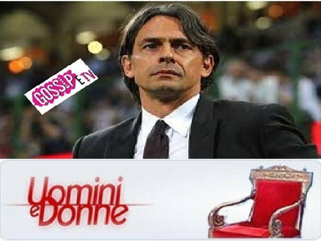 Filippo Inzaghi pizzicato insieme ad un'ex corteggiatrice di Uomini e Donne