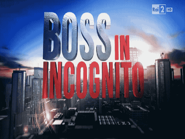 Foto del logo di Boss in incognito 2018