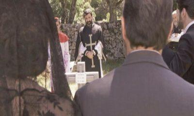 il segreto, il funerale di ana, julieta scappa