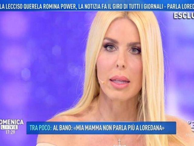 domenica live intervista loredana lecciso