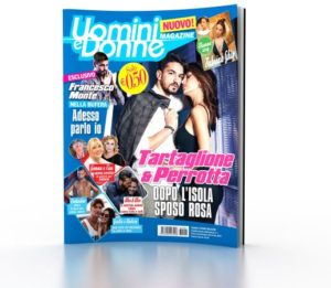 uomini e donne magazine copertina primo numero
