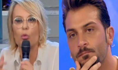 Foto di Maria De Filippi vs Mariano Catanzaro a Uomini e Donne 24 04 2018