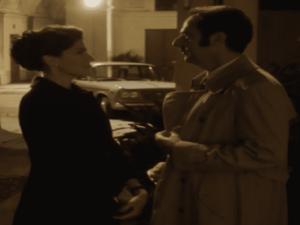 Foto di Anna Valle e Neri Marcoré, attori in Questo nostro amore 80