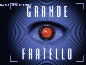 Foto logo Grande Fratello 2018, su Canale5 da martedì 17 aprile
