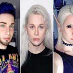 elfo umano prima e dopo