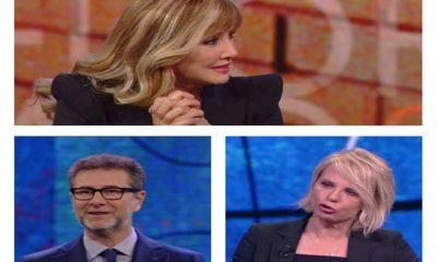 Foto Milly Carlucci, Fabio Fazio e Maria De Filippi a Che tempo che fa