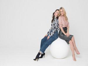 Foto Michelle Hunziker e Aurora Ramazzotti, conduttrice e inviata di Vuoi scommettere? (nuovo programma Mediaset)