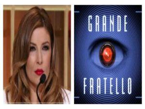 Foto Selvaggia Lucarelli e logo Grande Fratello 2018