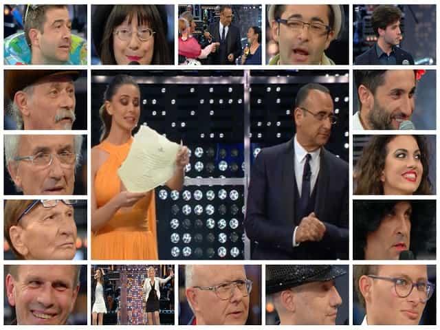 Foto tutti i concorrenti La Corrida 11 maggio 2018