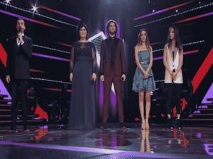 Foto vincitore e classificati a The Voice of Italy 2018