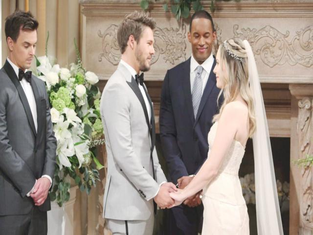 beautiful, liam e hope si sposano