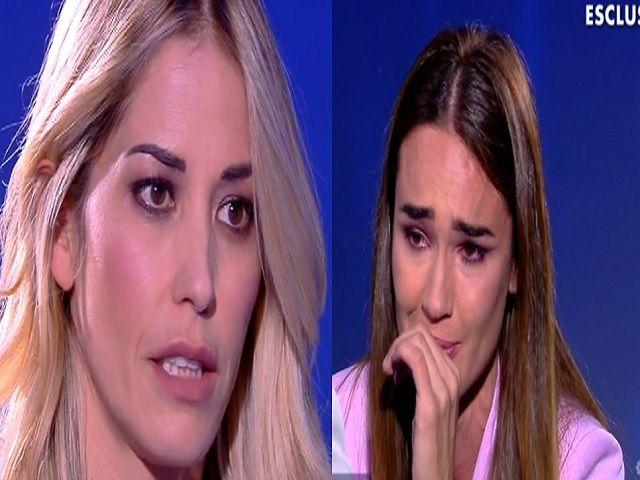 elena santarelli a Verissimo silvia toffanin in lacrime