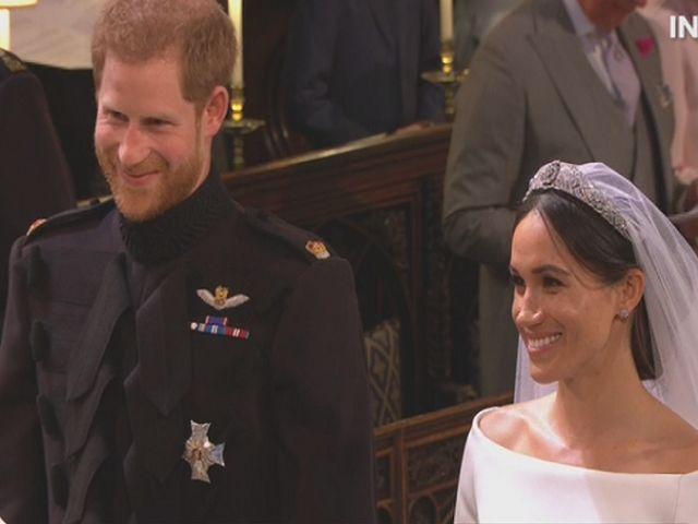 Matrimonio Harry E Meghan : Harry e meghan si sono sposati il gesto romantico di lui