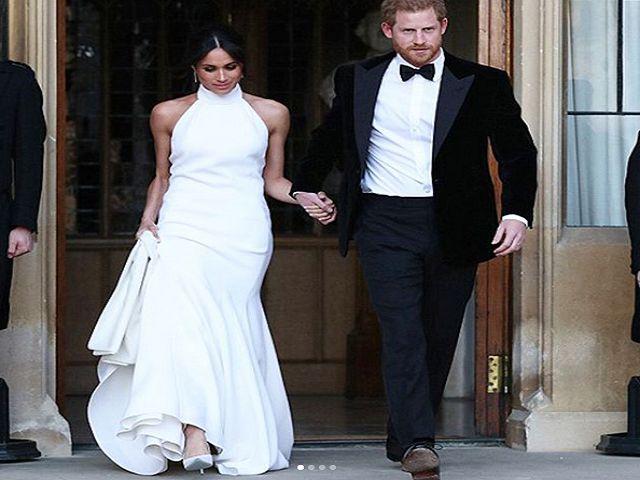 secondo vestito sposa meghan markle
