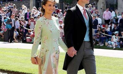 pippa middleton al matrimonio di harry e meghan