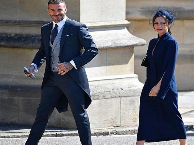 Matrimonio Harry E Megan : Beckham incanta al matrimonio di harry e meghan gaffe per