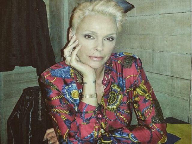 Brigitte Nielsen mamma a 54 anni