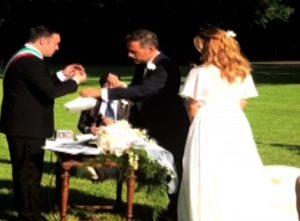 matrimonio filippa lagerback daniele bossari