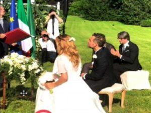 09da2394c280 Matrimonio di Daniele Bossari e Filippa Lagerback  le prime immagini della  cerimonia