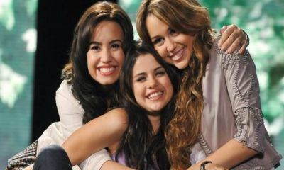 selena demi miley da piccole