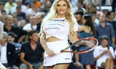 francesca cipriani gioca a tennis