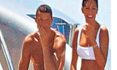 ronaldo e la compagna a ibiza