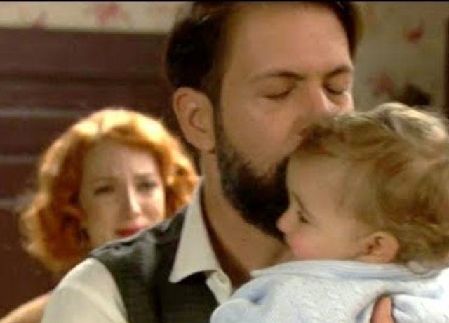 il segreto, severo ritrova suo figlio carmelito