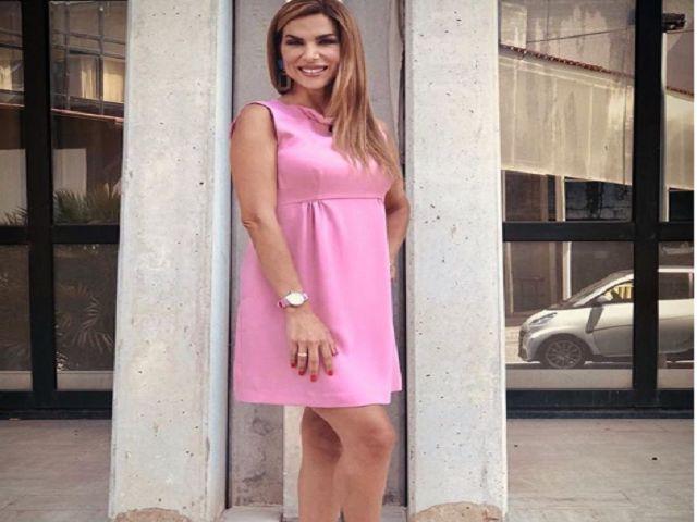 veronica maya dress pink