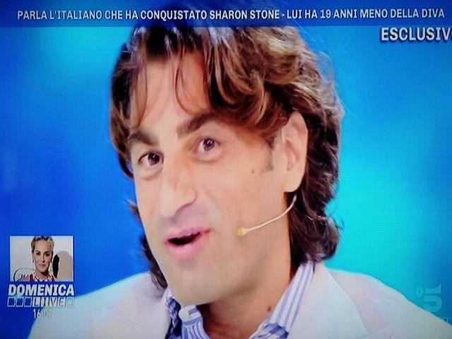 fidanzato italiano sharon stone