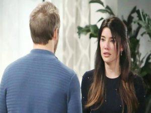 beautiful, liam scopre il tradimento di Steffy e bill