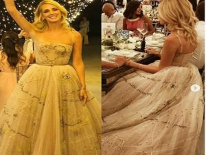 Secondo vestito sposa Chiara Ferragni nasconde sorpresa per Fedez  VIDEO c0a7c17f398