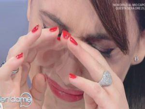 chiara francini in lacrime