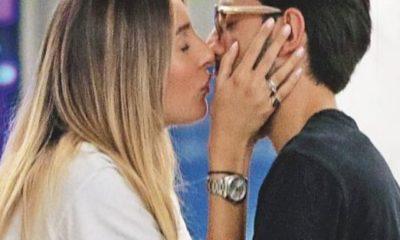 piero barone e valentina foto bacio