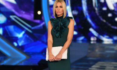 ilary blasi vestito verde