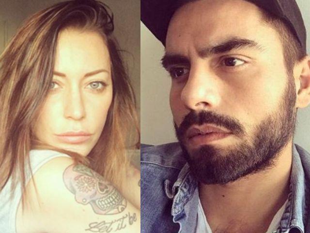 Karina Cascella e Mario Serpa
