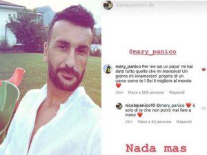 Nicola Panico foto Instagram