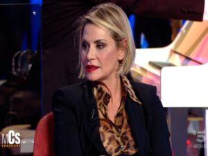 Simona Ventura al Maurizio Costanzo Show
