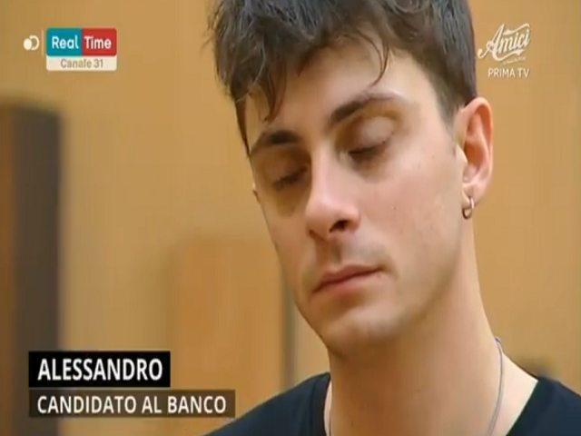 Cantante Amici Alessandro Casillo