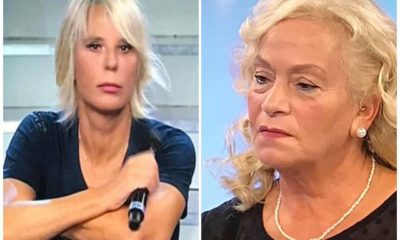 maria de filippi riprende angela del trono over