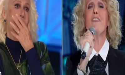 loretta goggi piange imitazione tale e quale show alessandra drusian