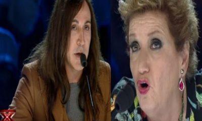 Mara Maionchi e Manuel Agnelli a X Factor