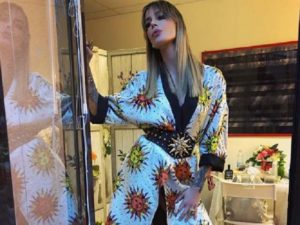 Nina Moric lite alda d'eusanio chiambretti sfogo post puntata