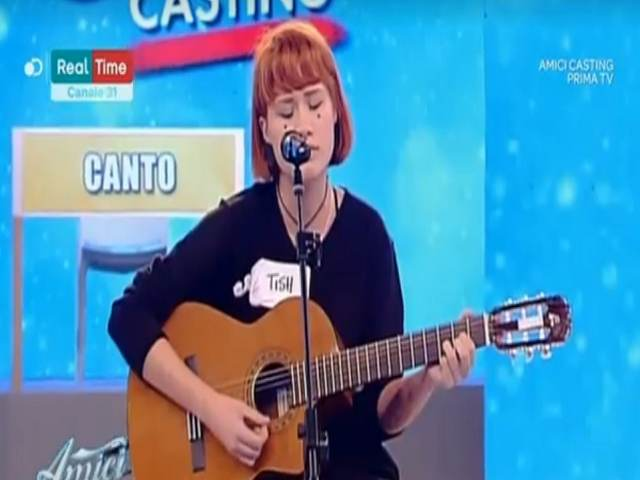 Tish cantante Amici casting