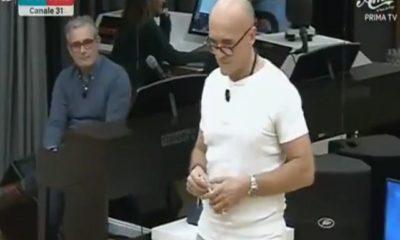 Alfonso Signorini professore musica Amici 2018 2019