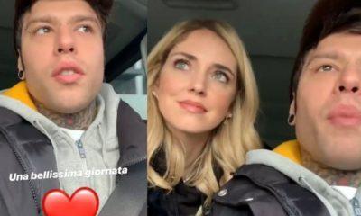 Fedez e Chiara Ferragni video instagram