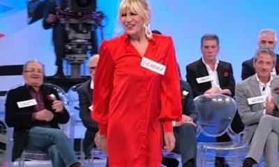 Gemma indossa il vestito di Giulia De Lellis