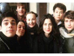 Cast attori La compagnia del cigno